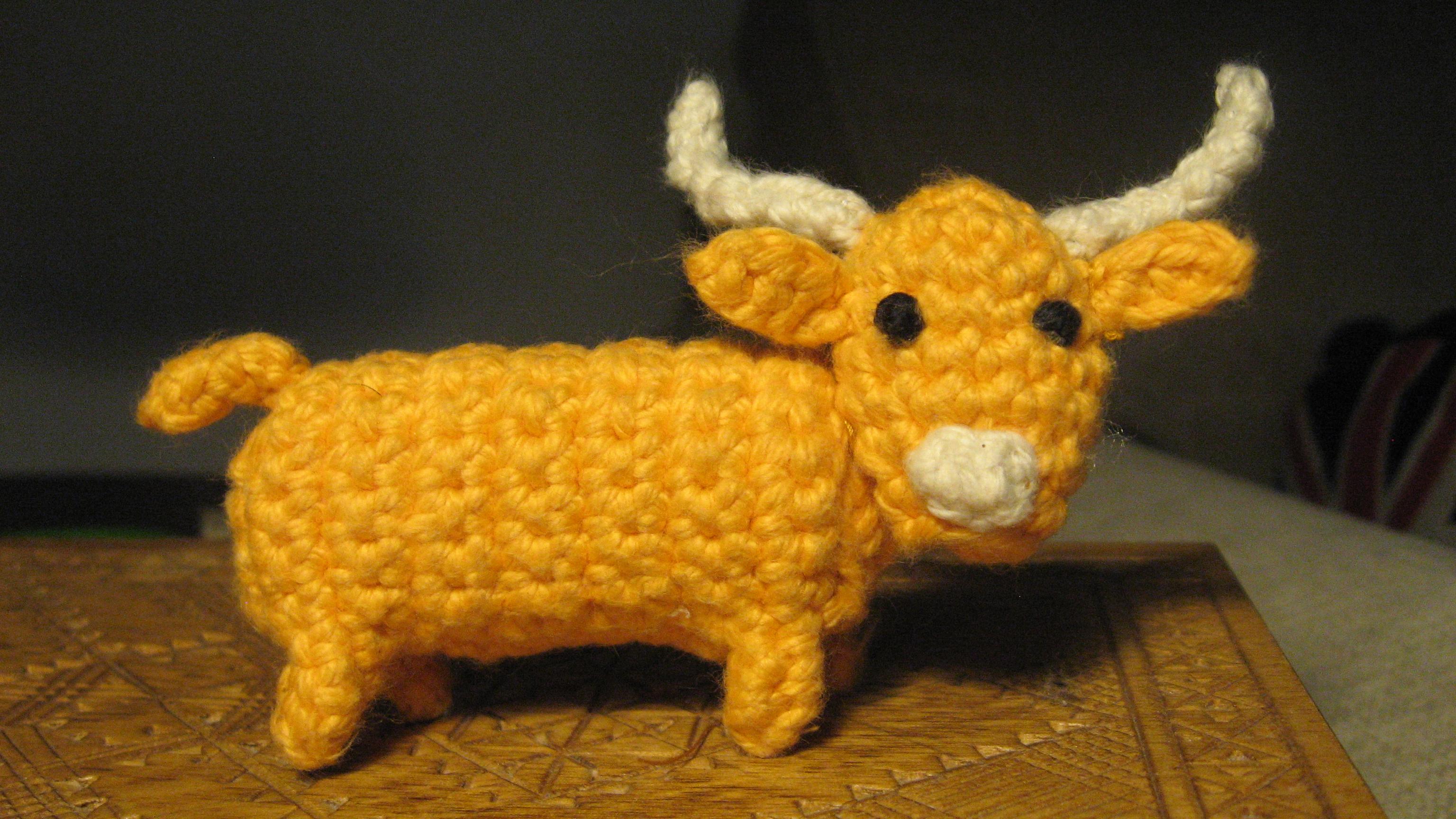 Amigurumi Highland Cow : Amigurumi. H?glandsboskap - Amigurumisar - alster ...